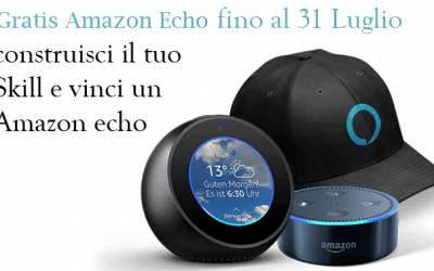 Amazon Alexa Skills Kit ed Amazon echo in Italia.
